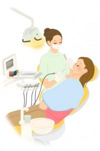 歯科衛生士イラスト1.illust-dental2007